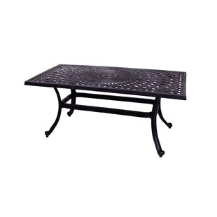 Savings Islais Aluminum Coffee Table Affordable