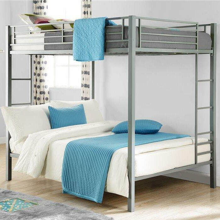 Madelynn Full over Full Loft Bunk Bed Frame