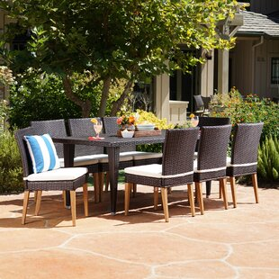 Bealeton 9 Piece Dining Set