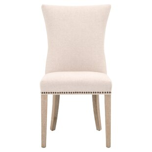 Legare Upholstered Parsons Chair in Jute Set of 2