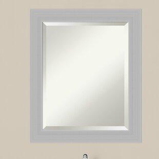 Look for Wood Frame Bathroom Wall Mirror ByLatitude Run