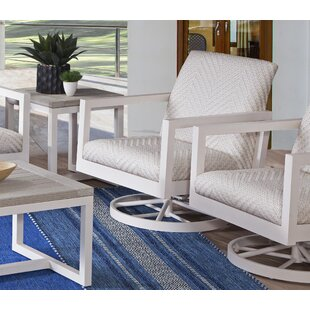 Larissa Swivel Patio Chair With Cushions by Braxton Culler