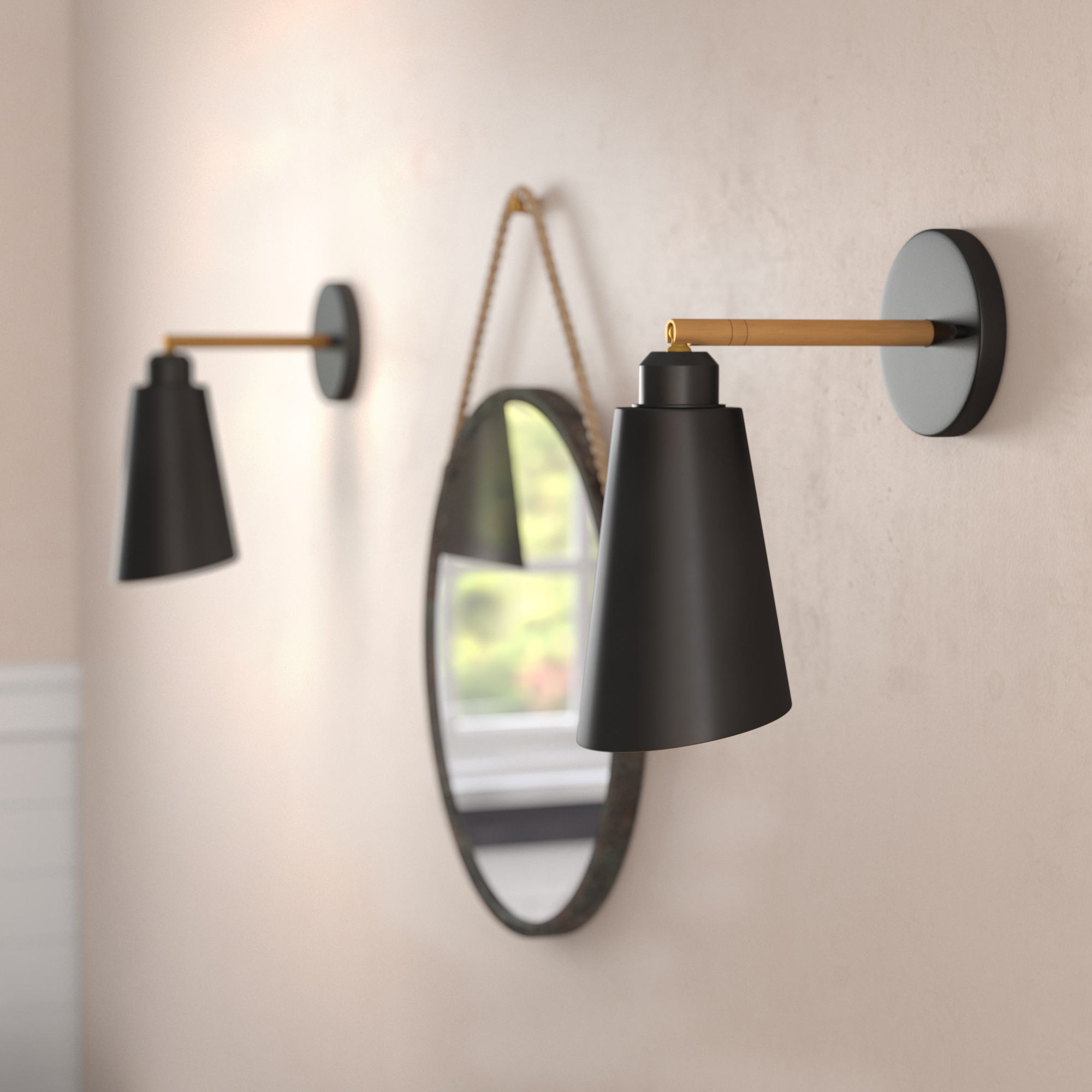 Modern Lighting Allmodern Lamps Plus Pendant Decorative Electrical Wiring Wall Sconces
