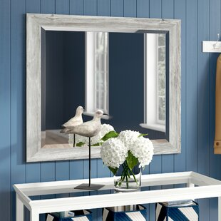 Rectangle Antique Wall Mirror by Beachcrest Home