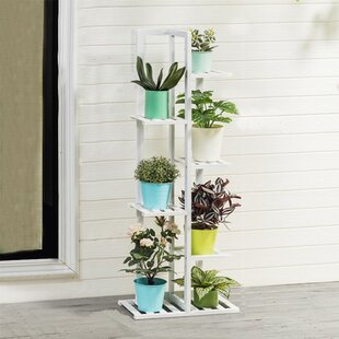 Rubinstein Rectangular Multitiered Plant Stand by Freeport Park
