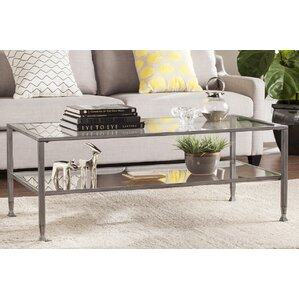 Casas Rectangular Coffee Table by Orren Ellis