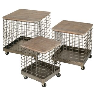 Nathaly 3 Piece Nesting Tables by Gracie Oaks Savings