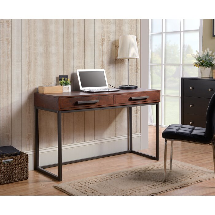 with desks writing regarding to wayfair top office mirrored desk furniture amazing regard allie awesome