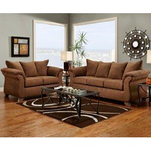 Carter 2 Piece Living Room Set by Wildon Hom..