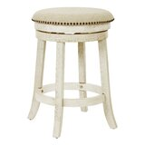 Beedle Swivel 26 Counter Stool (Set of 2) by Gracie Oaks