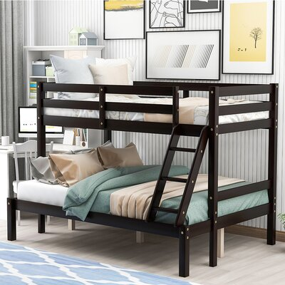 Isabelle and Max Franconia Bunk Bed  Bed Frame Color: Espresso