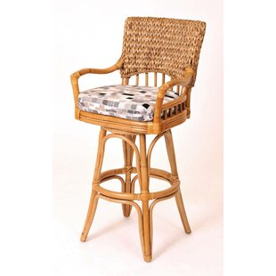 Pringle 24 Swivel Bar Stool By Bay Isle Home