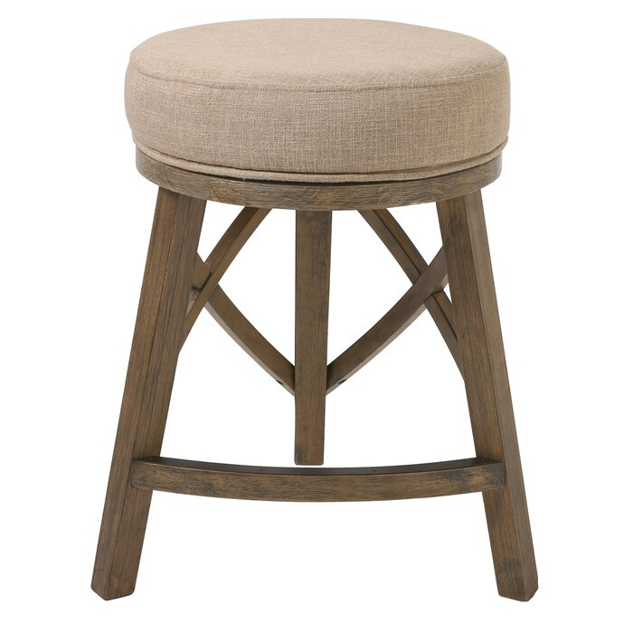 Wondrous Pleasanton Counter Height 25 Swivel Bar Stool Squirreltailoven Fun Painted Chair Ideas Images Squirreltailovenorg