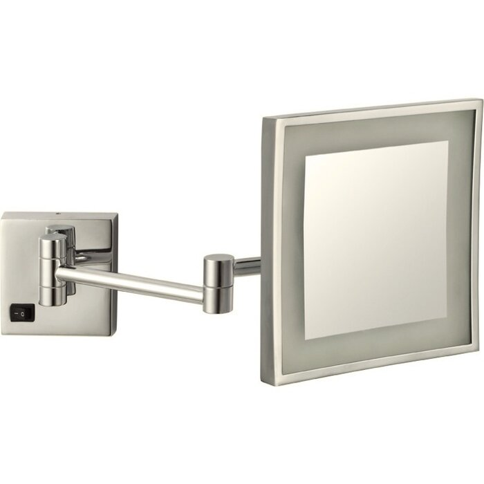 Square Wall Mounted Makeup Mirror