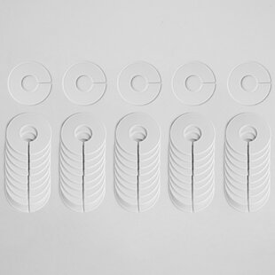 Kingery Blank Round Size Divider (Set of 50) By Symple Stuff