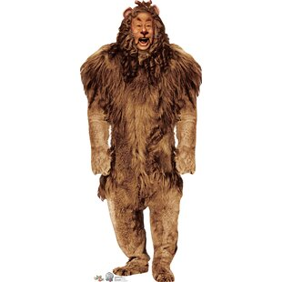 Cowardly Lion - Wizard of Oz 75 Year Anniversary Cardboard Stand-Up By Advanced Graphics