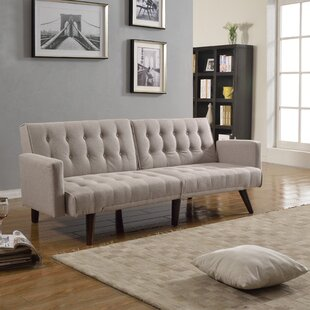 Compare Kaylynn Mid Century Convertible Sofa by Langley Street Reviews (2019) & Buyer's Guide