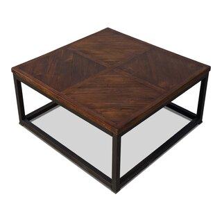 Parquet Low Table, Dark Brown, 20 X 20 by Sarreid Ltd SKU:BC323034 Check Price