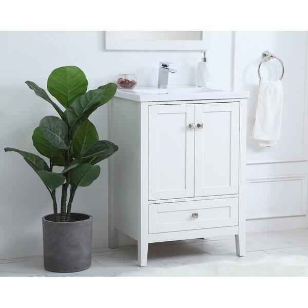 Andover Mills Modena 24 Single Bathroom Vanity Set Reviews Wayfair