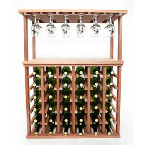 36 Bottle Floor Wine Rack by Wineracks.com