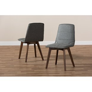 Windell Upholstered Dining Chair (Set of 2) Wrought Studio