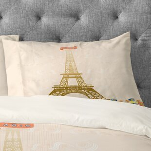Jennifer Hill Paris Eiffel Tower Pillowcase