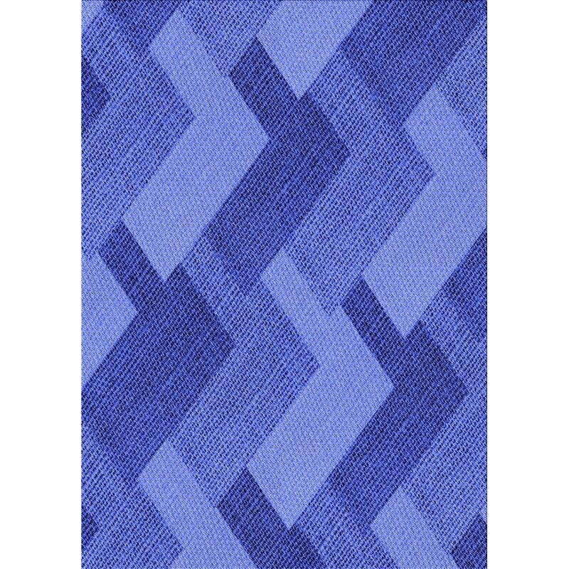 East Urban Home Kyan Wool Blue Light Violet Area Rug Wayfair