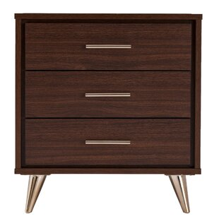 Blouin 3 Drawer Nightstand by Orren Ellis