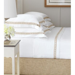 Inès 300 Thread Count 100% Cotton Sheet Set by Eastern Accents Wonderful