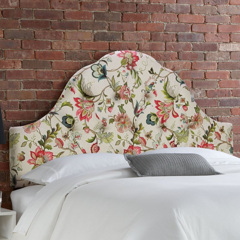Tufted Brissac High Arch Upholstered Panel Headboard