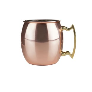 Admiral Copper 16 Oz. Moscow Mule Mug by Viski 2019 Sale