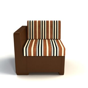 Sturtevant Left End Patio Chair with Cushion