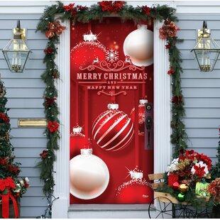 Christmas Door Cover Wayfair