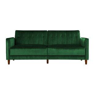 Modern & Contemporary Forest Green Sofa | AllModern