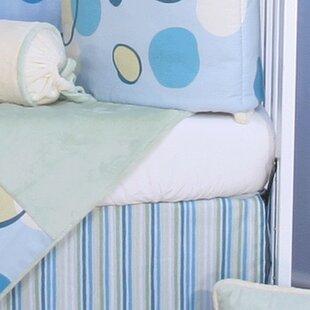 Minky Bubbles Flat Crib Sheet ByBrandee Danielle