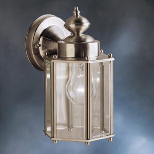 Price Check Caroline 1-Light Outdoor Wall Lantern By Astoria Grand