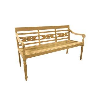 Alwari Teak Garden Bench