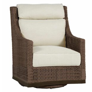 Peninsula Swivel Glider Chair With Cushion by Summer Classics Today Sale Only
