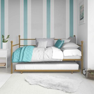Dimas Twin Daybed with Trundle by Harriet Bee