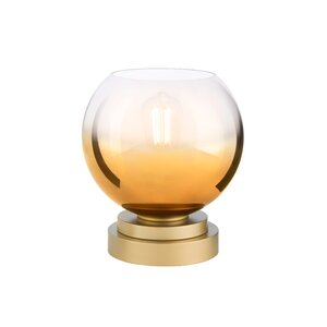 Gold Ombre Glass Up-Light 11.25
