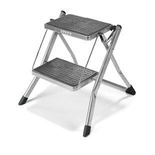 kitchen folding step stools wayfair co uk