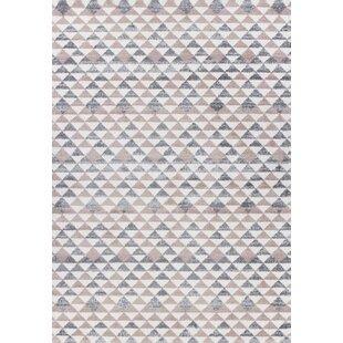 Softy Grey Pink Rug