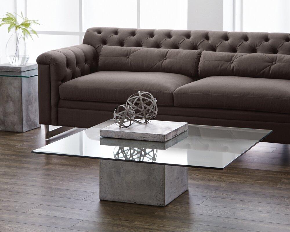Sunpan modern mixt grange coffee table reviews wayfair mixt grange coffee table geotapseo Gallery