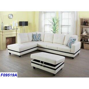 White Sectional Sofas | Joss & Main