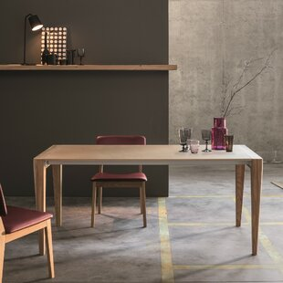 Retro Solid Wood Dining Table
