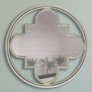 Circular Clover Square Wall Mirror