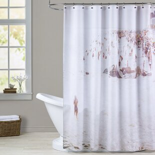 Mina Teslaru Coney Island Mermaid Single Shower Curtain