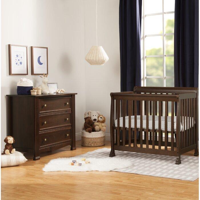 Kalani Convertible Mini 2 Piece Nursery Furniture Set