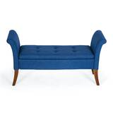 Yokoyama Upholstered Storage Bench by George Oliver