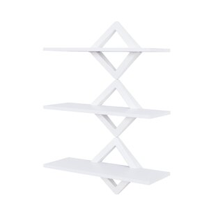 Henstra Diamonds 3-Level System Floating Shelf